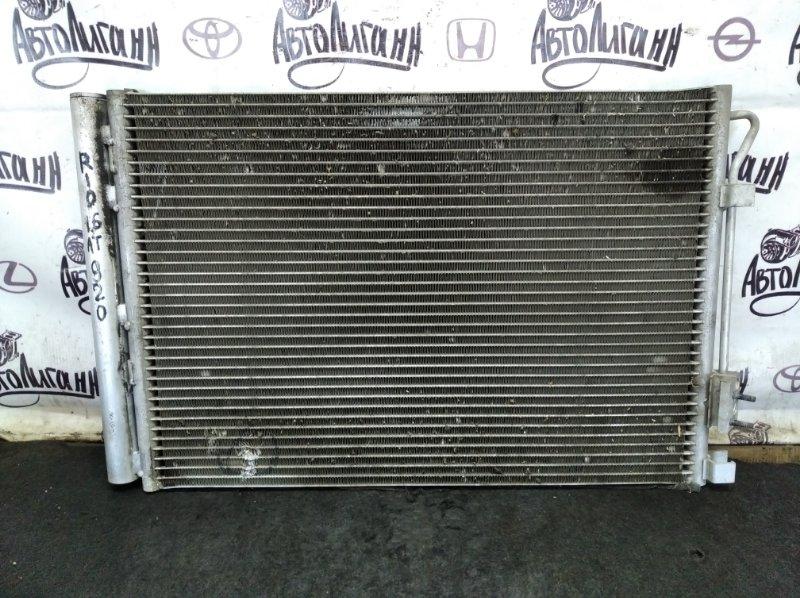 Радиатор кондиционера Kia Rio G4FC 2013 (б/у)