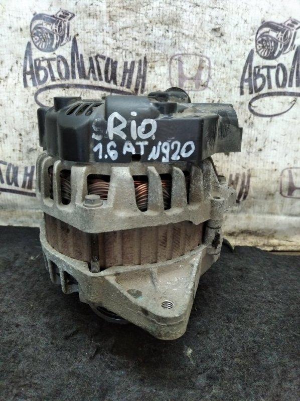 Генератор Kia Rio G4FC 2013 (б/у)