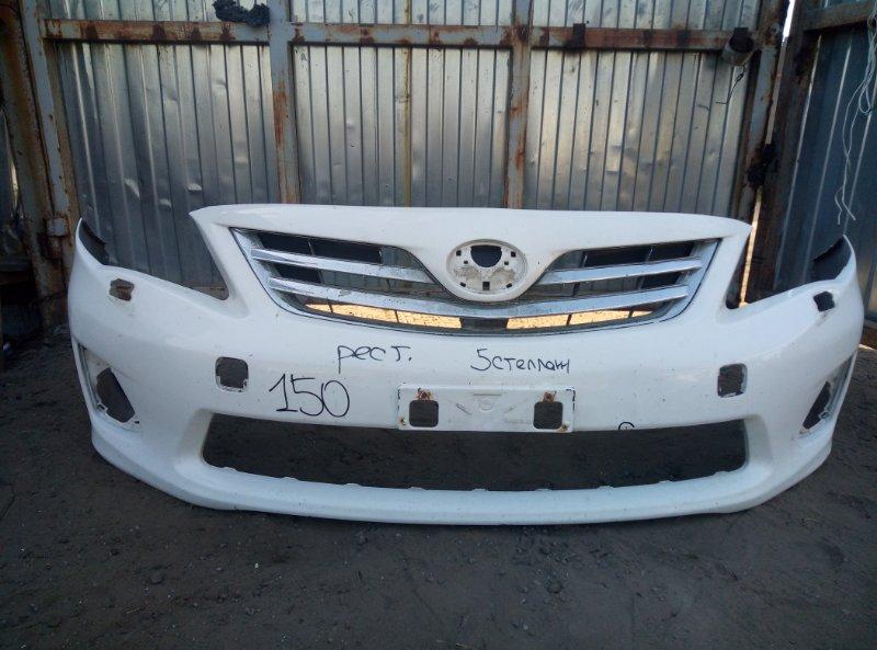 Бампер Toyota Corolla 150 передний (б/у)