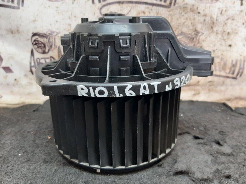 Моторчик печки Kia Rio G4FC 2013 (б/у)