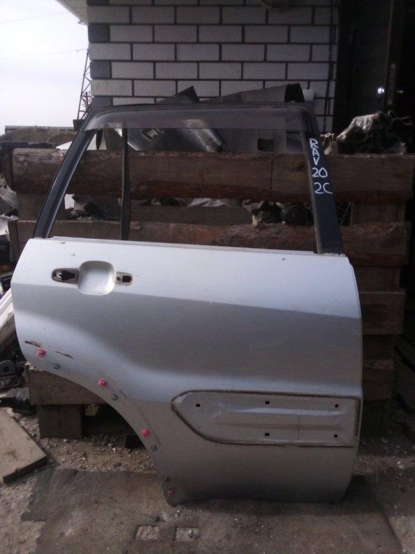 Дверь Toyota Rav 4 Xa 20 1AZFE 2000 задняя правая (б/у)