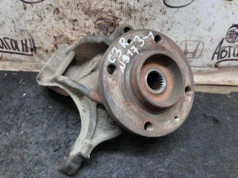 Кулак поворотный (цапфа) Citroen C3 EP3 2011 передний правый (б/у)