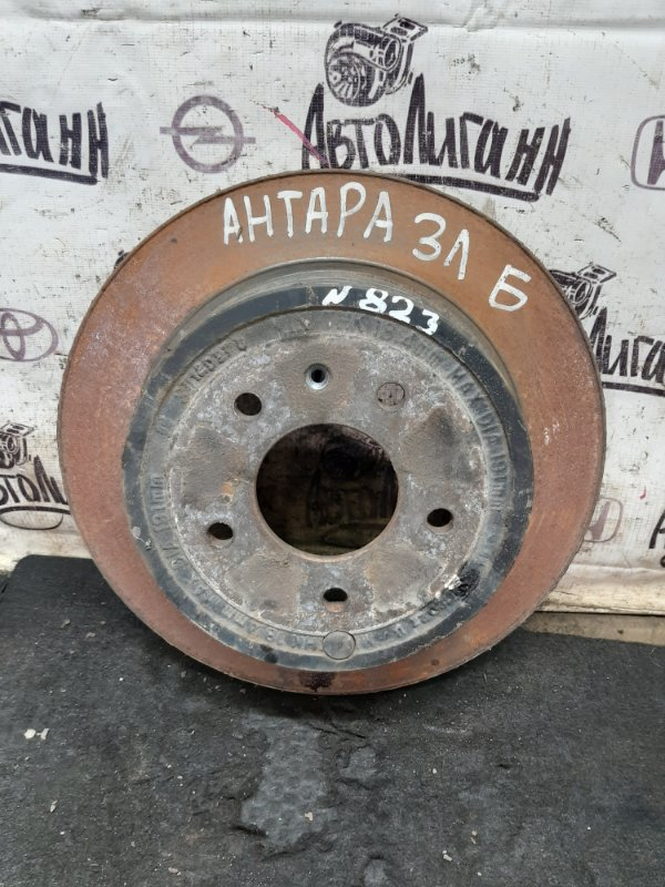 Тормозной диск Opel Antara LE5 2012 задний (б/у)