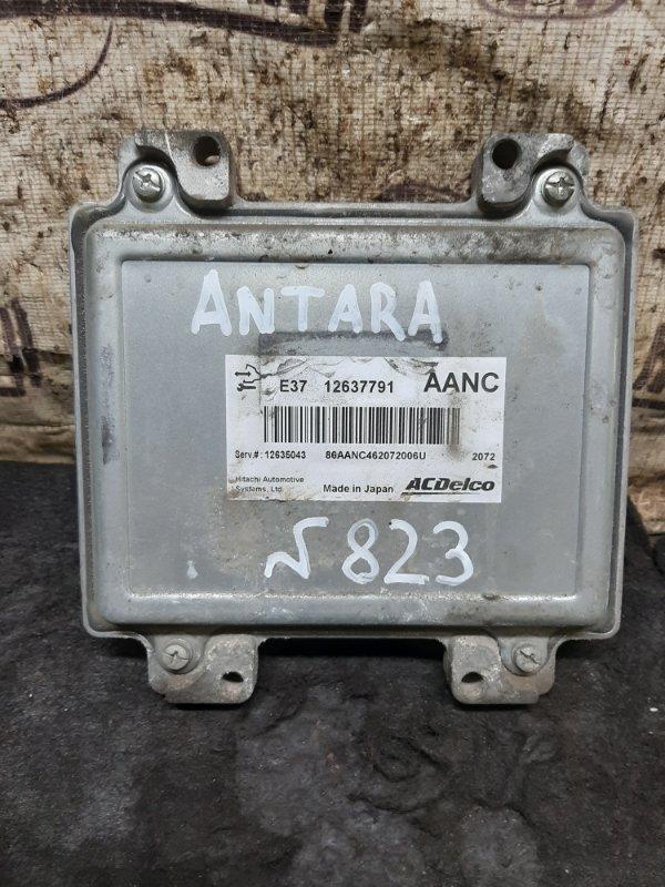 Блок управления двигателем Opel Antara LE5 2012 (б/у)