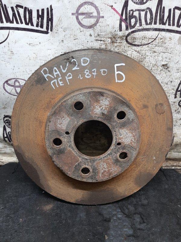 Тормозной диск Toyota Rav 4 Xa 20 1AZFE 2000 передний (б/у)