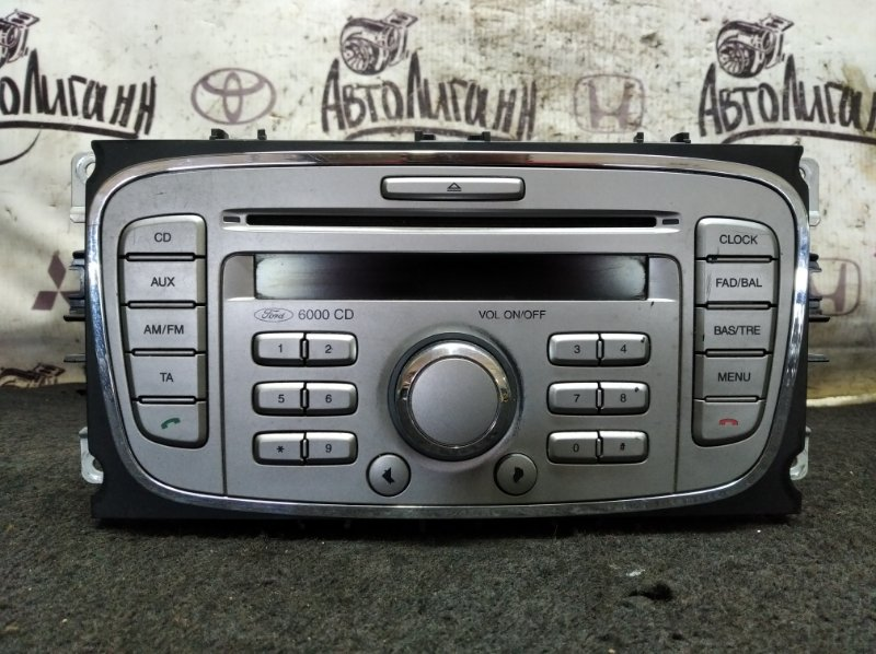 Магнитола Ford Focus 2 Plus СЕДАН QQDB 2008 (б/у)