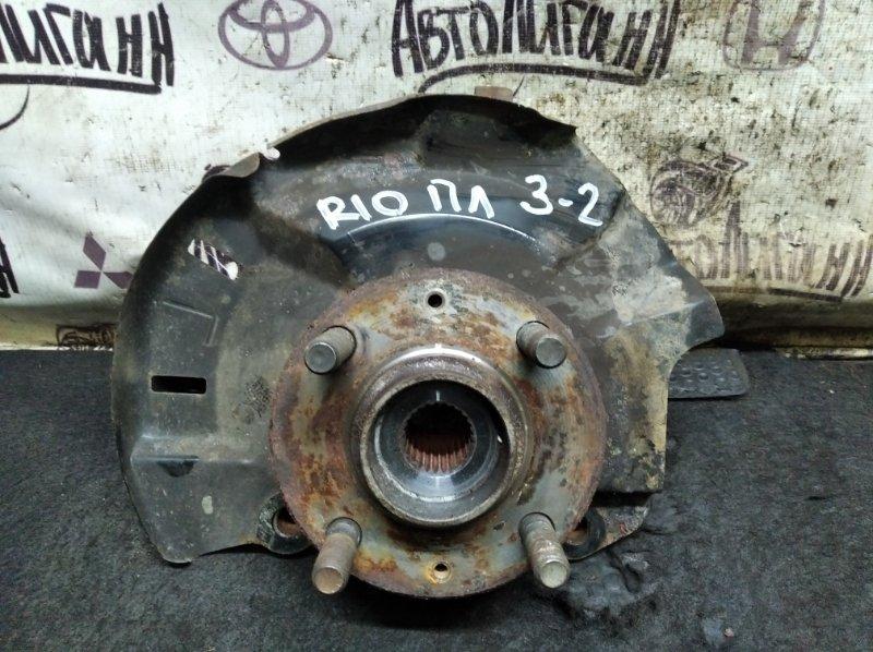 Кулак поворотный (цапфа) Kia Rio СЕДАН G4FC 2012 передний левый (б/у)