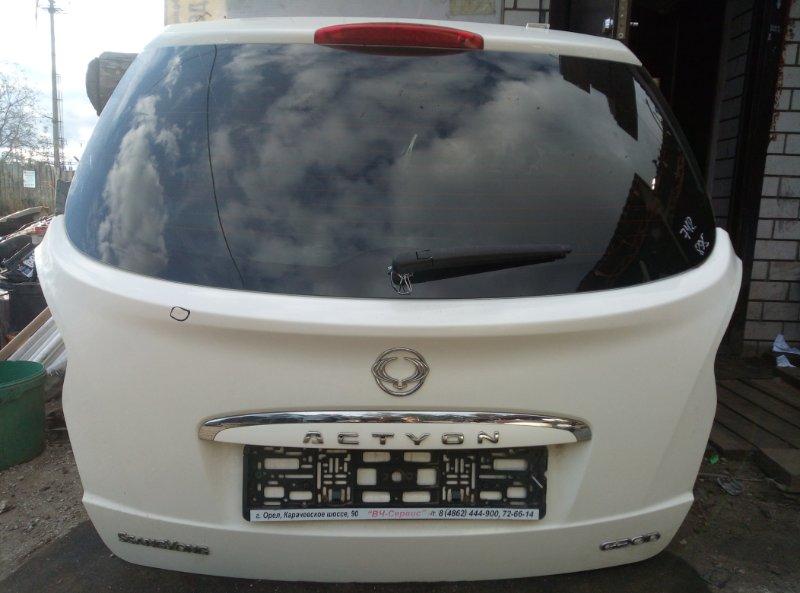Крышка багажника Ssang Yong Actyon New G20D 2013 (б/у)