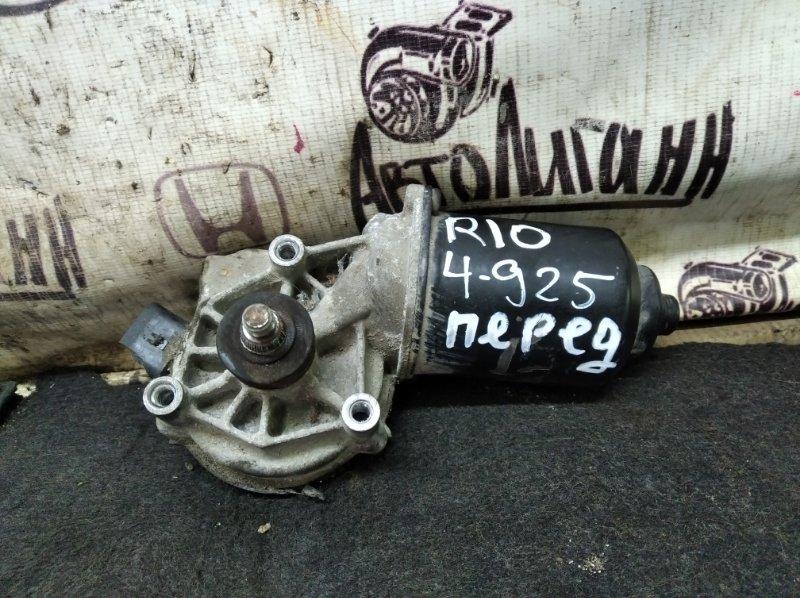 Мотор дворников Kia Rio СЕДАН G4FC 2012 передний (б/у)