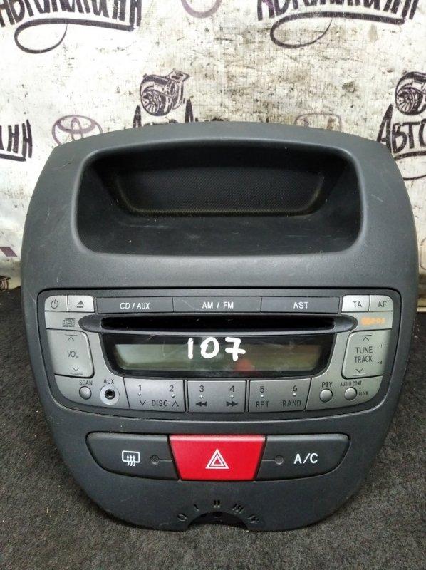 Магнитола Peugeot 107 (б/у)