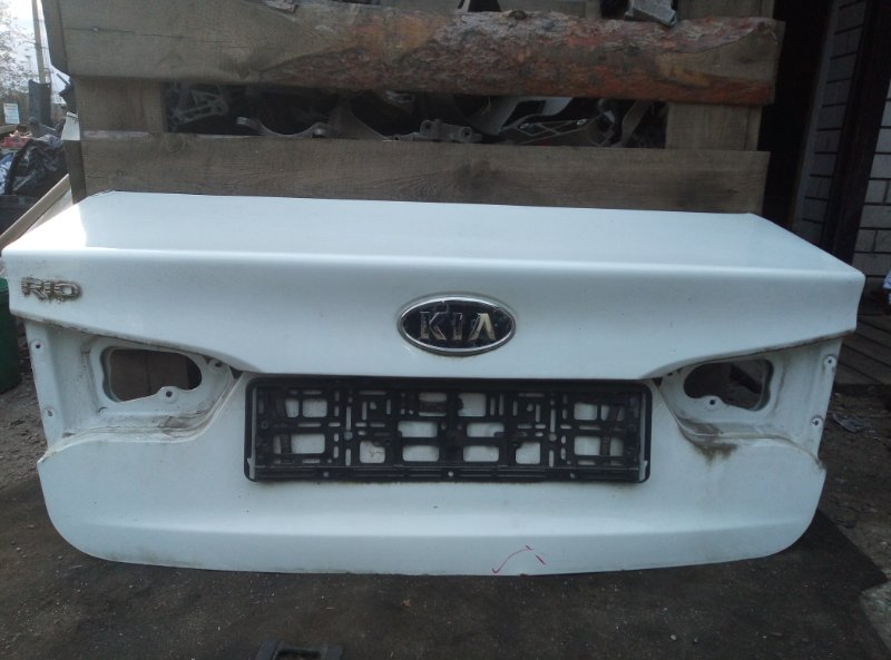 Крышка багажника Kia Rio СЕДАН G4FC 2012 (б/у)