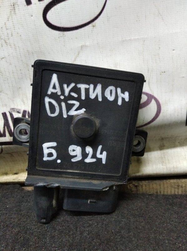 Блок накала свечей Ssang Yong Actyon New D20DTF 2014 (б/у)