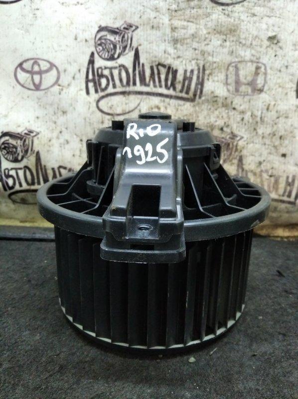 Моторчик печки Kia Rio СЕДАН G4FC 2012 (б/у)