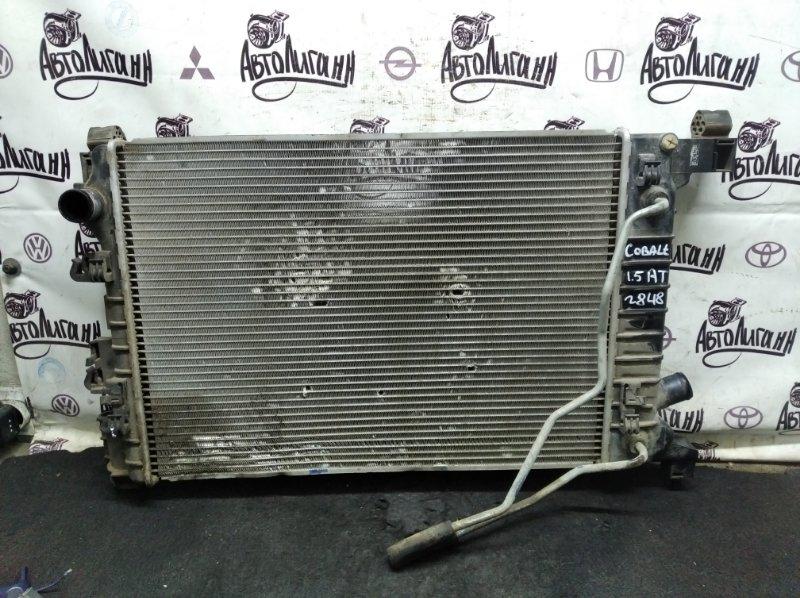 Радиатор охлаждения Chevrolet Cobalt B15D2 2013 (б/у)