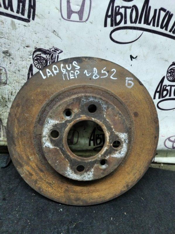 Тормозной диск Lada Largus K9K8796 2009 передний (б/у)