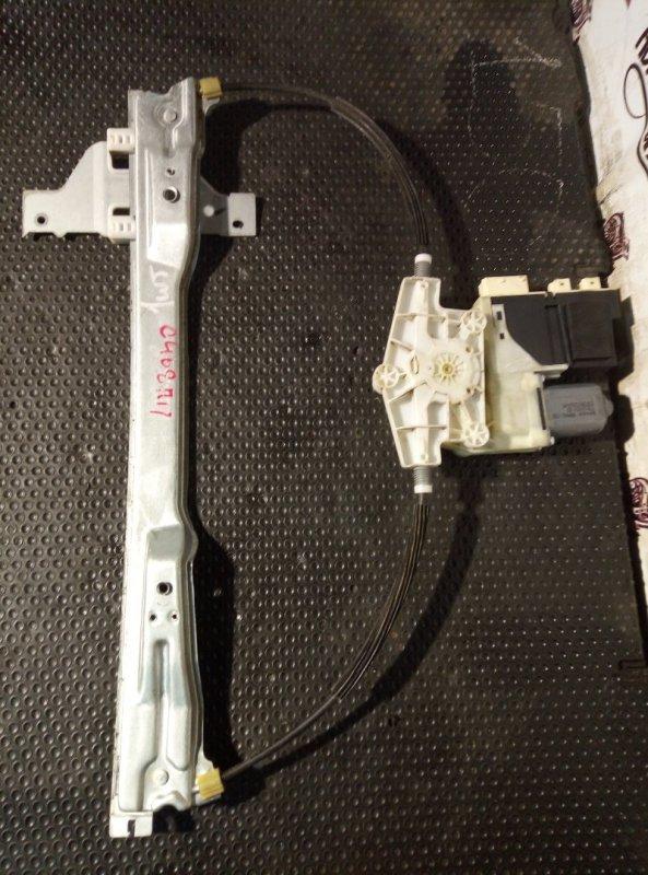 Стеклоподъемник Citroen C4 2008 передний правый (б/у)