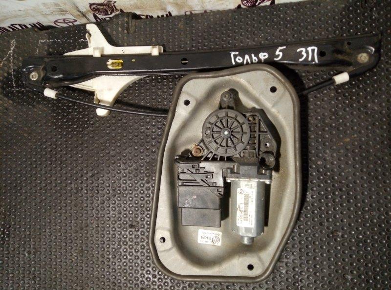 Стеклоподъемник Volkswagen Golf 5 задний правый (б/у)