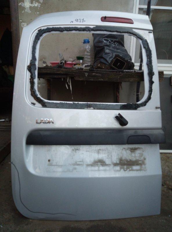 Дверь багажника Lada Largus K4M490 2014 левая (б/у)