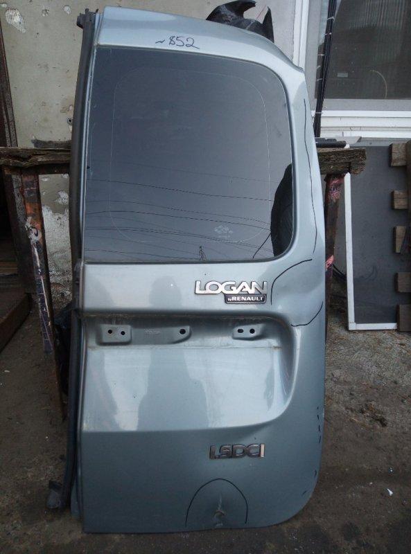 Дверь багажника Lada Largus K9K8796 2009 правая (б/у)