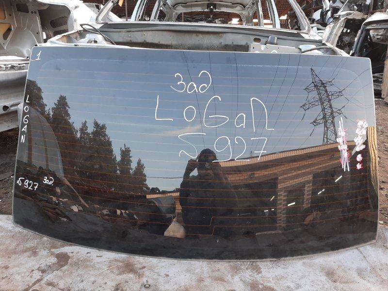 Стекло Renault Logan K4MC697 2011 заднее (б/у)