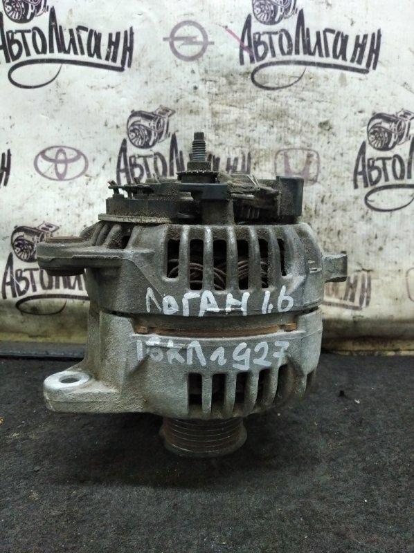 Генератор Renault Logan K4MC697 2011 (б/у)