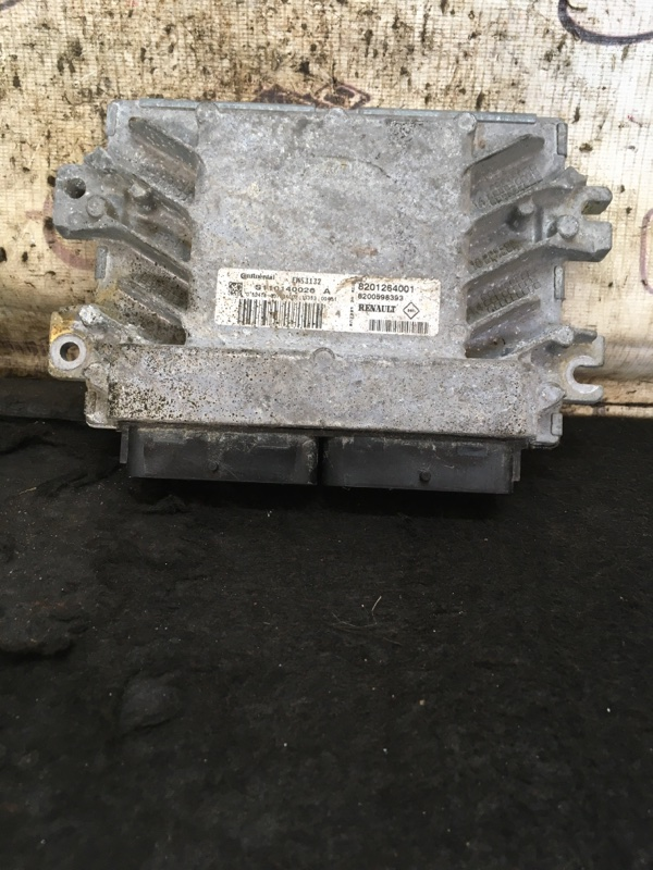 Блок управления двигателем Lada Largus K4M490 2014 (б/у)