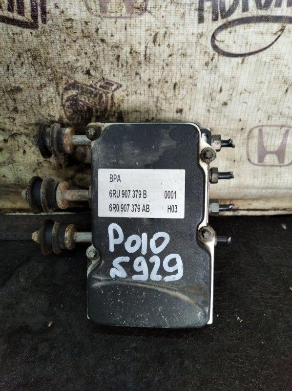 Блок abs Volkswagen Polo СЕДАН CFN 2012 (б/у)
