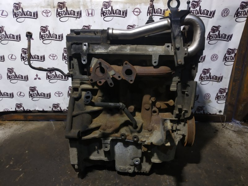 Двигатель Lada Largus K9K8796 2009 (б/у)