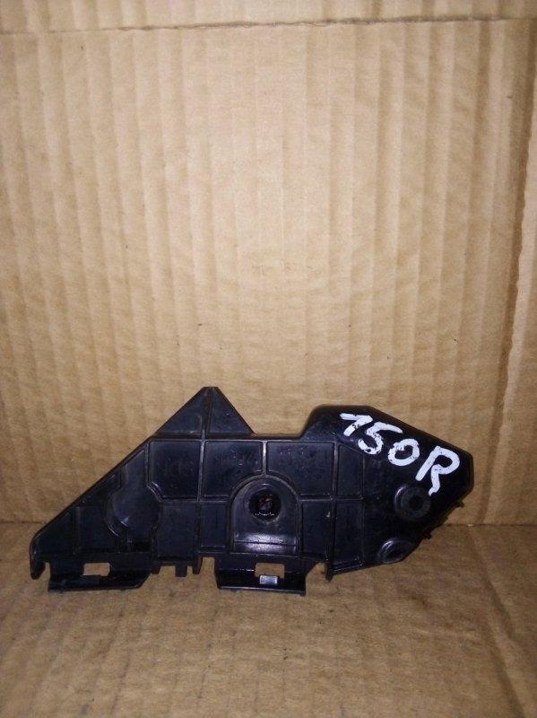 Кронштейн бампера Toyota Corolla 150 2006 задний правый (б/у)