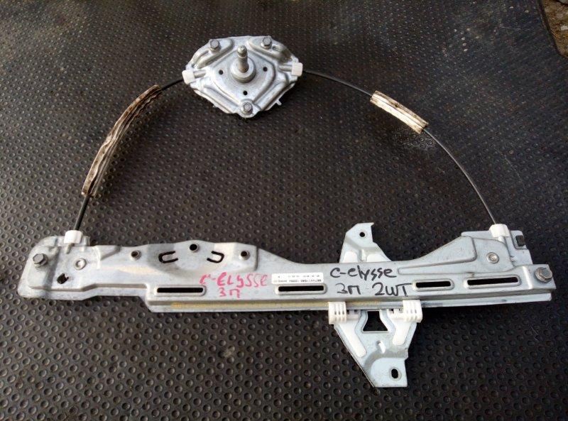 Стеклоподъемник Citroen C-Elysee задний правый (б/у)
