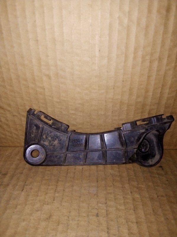 Кронштейн бампера Toyota Rav 4 2011 передний левый (б/у)