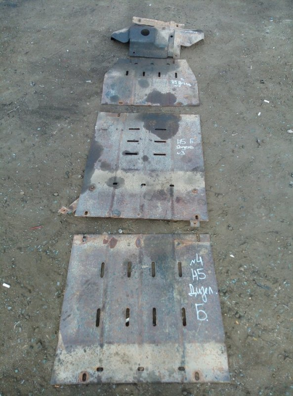 Защита двигателя Great Wall Hover H5 GW4D20 2011 (б/у)