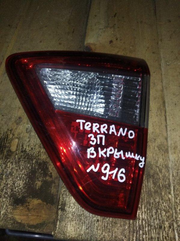Фонарь Nissan Terrano H4MD438 2016 задний правый (б/у)
