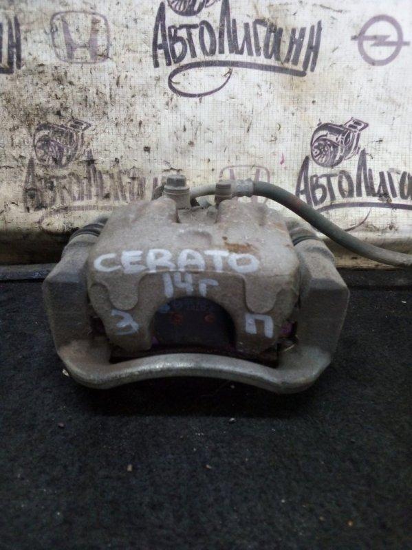 Суппорт Kia Cerato 3 G4FG 2015 задний правый (б/у)