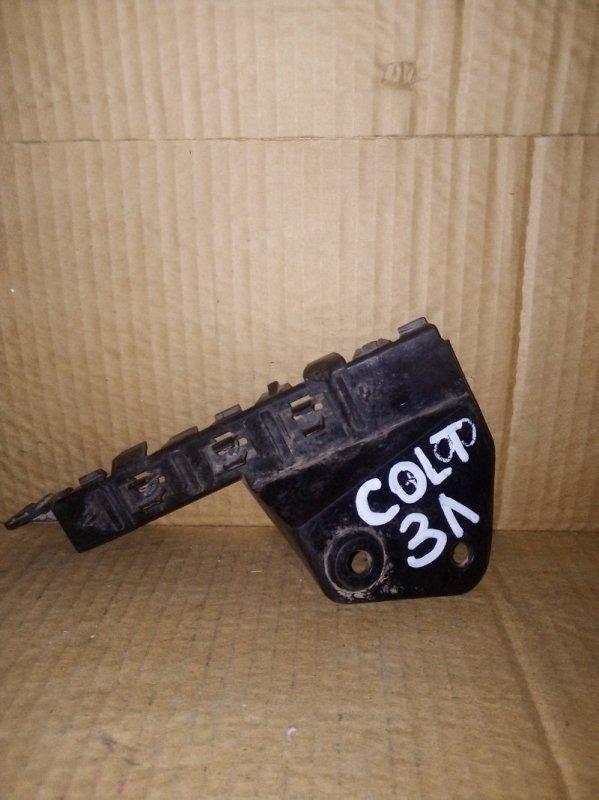 Кронштейн бампера Mitsubishi Colt 2008 задний левый (б/у)