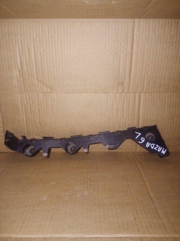 Кронштейн бампера Mazda 6 Gh задний левый (б/у)