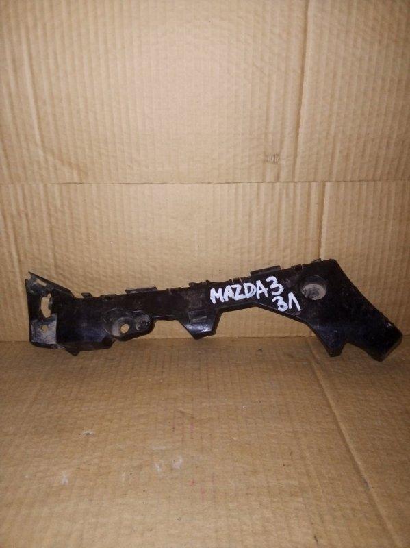 Кронштейн бампера Mazda 3 СЕДАН задний левый (б/у)
