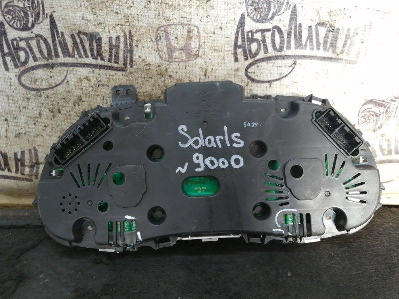Щиток приборов Hyundai Solaris (б/у)