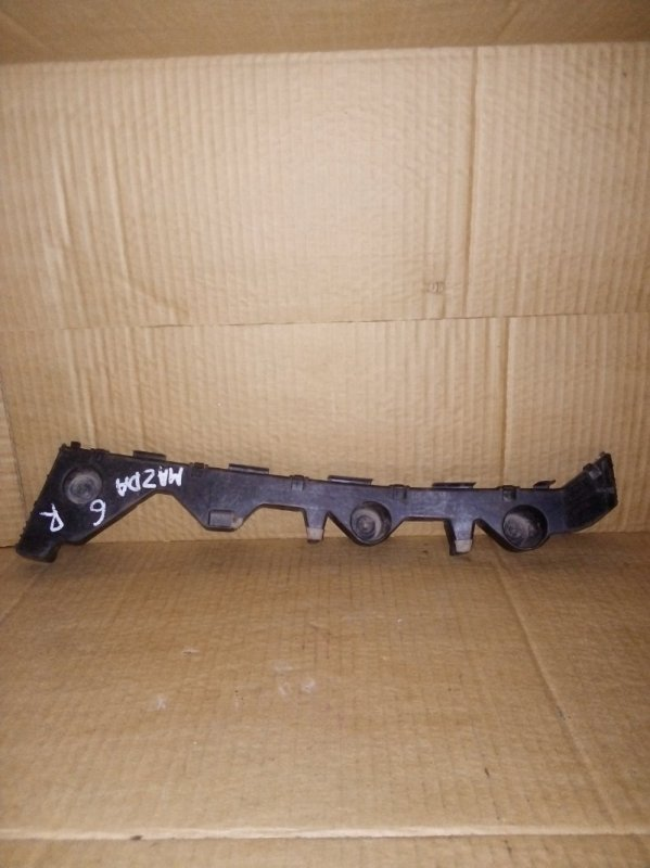 Кронштейн бампера Mazda 6 Gh задний правый (б/у)