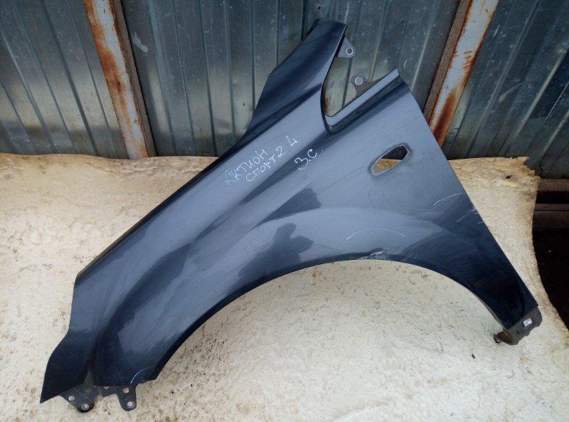 Крыло Ssang Yong Actyon Sports 2 D20DTR 2012 переднее левое (б/у)