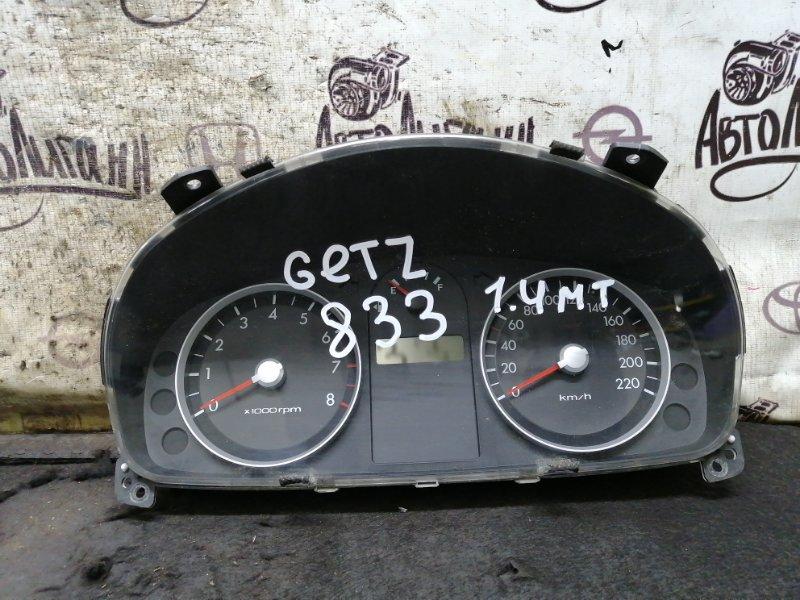 Щиток приборов Hyundai Getz G4EE 2008 (б/у)
