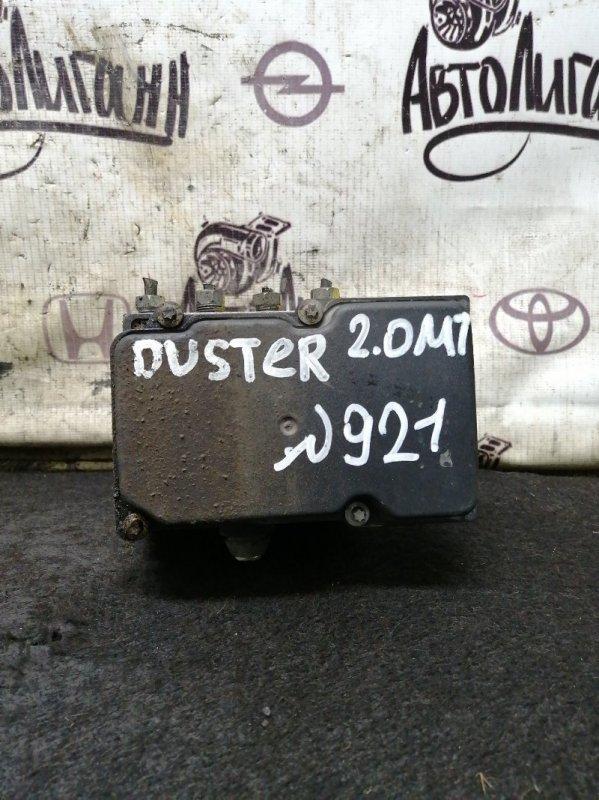 Блок abs Renault Duster F4RA400 2012 (б/у)