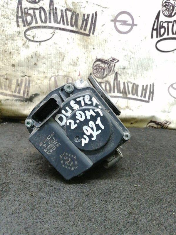 Дросельная заслонка Renault Duster F4RA400 2012 (б/у)