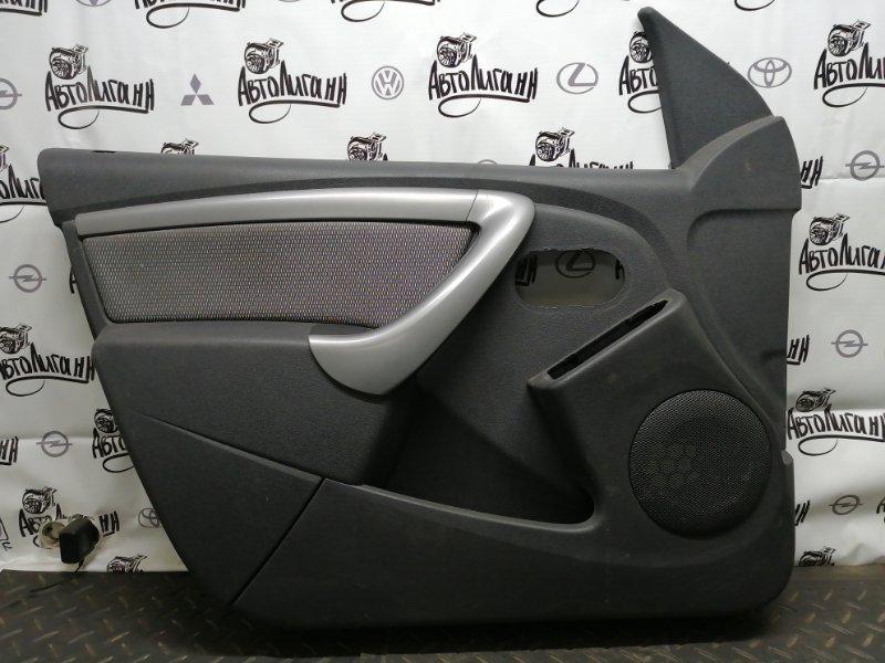 Обшивка двери Renault Duster F4RA400 2012 (б/у)