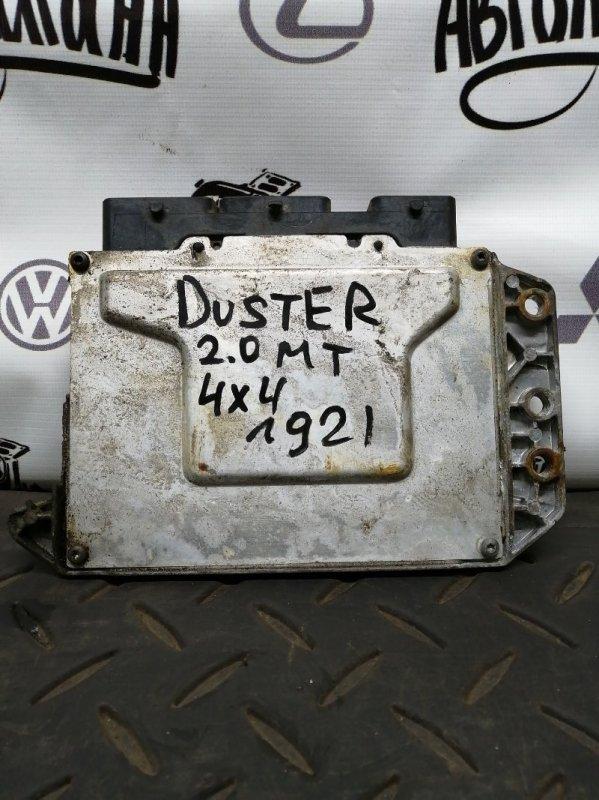 Блок управления двигателем Renault Duster F4RA400 2012 (б/у)