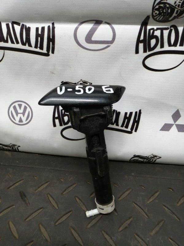Форсунка омывателя фар Toyota Camry V-50 передняя левая (б/у)