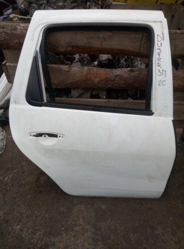 Дверь Renault Duster F4RA400 2012 задняя правая (б/у)
