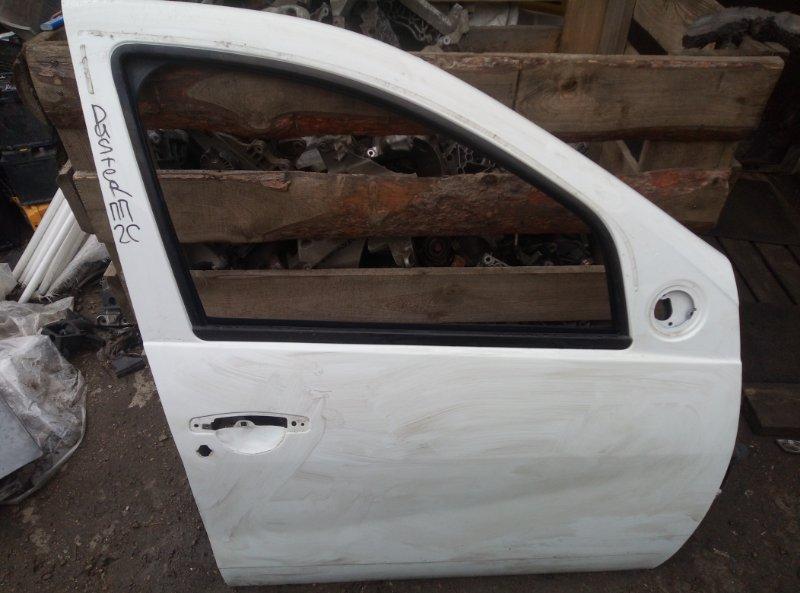 Дверь Renault Duster F4RA400 2012 передняя правая (б/у)