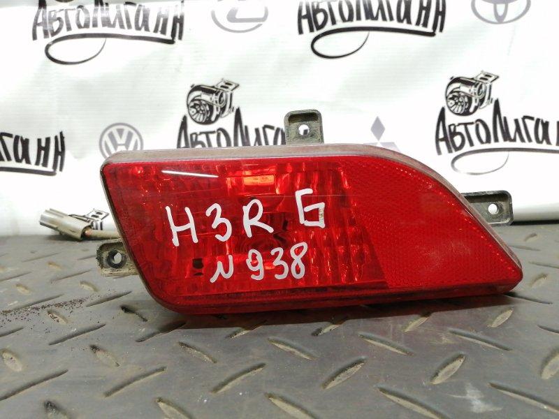 Фара противотуманная Great Wall Hover H3 4G63 2012 задняя правая (б/у)