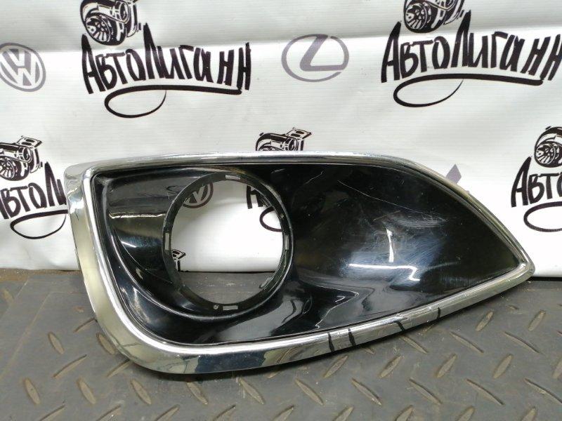 Накладка противотуманной фары Hyundai Ix35 передняя левая (б/у)